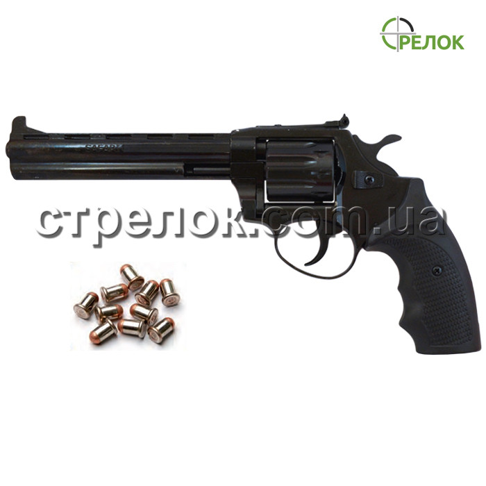 Револьвер под патрон Флобера Safari РФ 461 М пластик