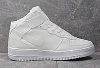 Кроссовки женские Nike Air Force High White D1616 белые