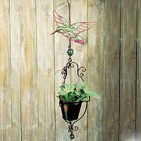 Декоративное подвесное кашпо Engard Райская птичка