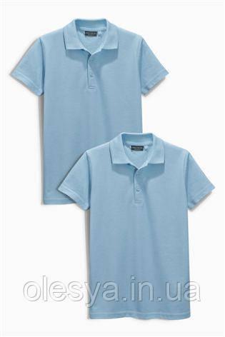 Школьная рубашка поло Некст на мальчика Хлопок Размер 146