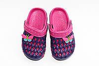Летняя обувь для детей. Феолетовые/малиновые(24-29)