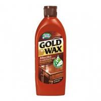 Молочко - полироль для деревяной мебели Gold Wax с цветочным запахом 250 ml