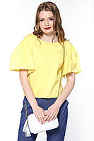 "Блуза широкий рукав ""Romantic"" жовта"