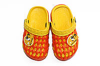 Летняя обувь для детей. Оранж/жолтый (24-29)