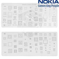 BGA-трафарет K95/B418 для Nokia C5-00/N79/X3-00 (51 in 1)