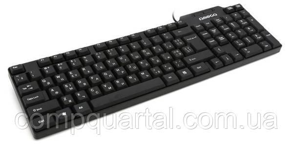 Клавіатура Omega OK-05 Ru cyrilic version USB (OK05TRU)