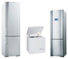 Морозильные камеры, лари, холодильники