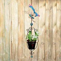 Декоративное подвесное кашпо Engard Райская бабочка