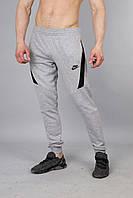 Мужские спортивные штаны узкачи Nike серые