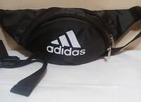 Поясная сумка бананка Adidas,  Адидас черная