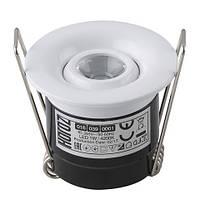 Светильник точечный HOROZ ELECTRIC SILVIA  1W 4200K белый