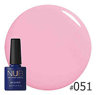 Гель-лак  NUB (США) GRUNGE AND TENDERNESS 051  8ml