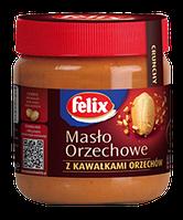 Арахисовое масло Felix с кусочками арахиса, 350г