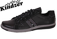 Туфли спорт Kindzer T24 Black&Grey