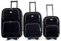 Дорожный чемодан на колесах Deli 901, набор 3 штуки, фото 1