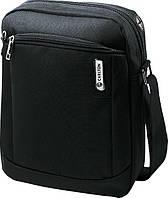 Мужская повседневная городская сумка размером 22*29*10 см Carlton Oasis 049J013;70 темно-синий 6 л