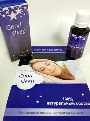 Good Sleep - инновационное средство от храпа