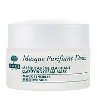 Крем-маска нежная очищающая с лепестками роз Nuxe Clarifying Cream-Mask With Rose Petals, 50 мл