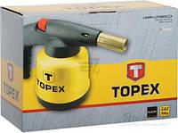 Topex Лампа паяльная газовая, картриджи 190 г, 2 дополнительные насадки (шт.)