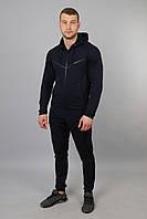 Мужской спортивный костюм трикотажный Найк черный