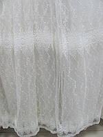 Тюль с вышивкой , фото 1