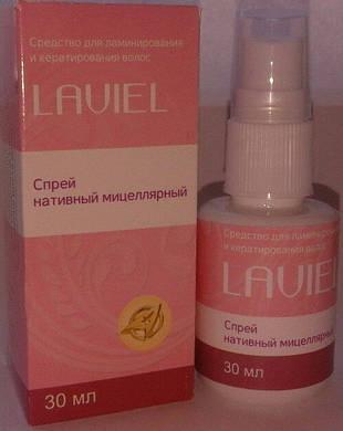 Спрей Laviel для ламинирования и кератирования волос