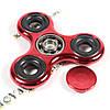 Fidget Spinner (Finger Spinner) - Спиннер, крутилка, вертелка, вертушка - Металлический, Красный хром