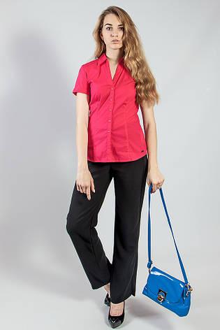 Рубашка женская  цветная летняя короткий рукав  S.Oliver , фото 2