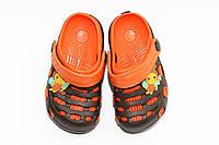 Обувь для детей. Коричневый/оранж (30-35)