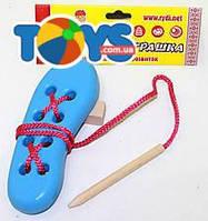 Детская игрушка-тренажер «Ботинок», Д585у