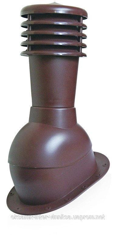 Вент выход Kronoplast KPI для битумной черепицы и плоской кровли с колпаком, фото 1