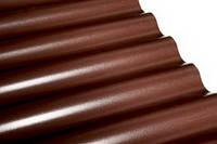 Лист Salux W коричневый волна 2х0.9 м