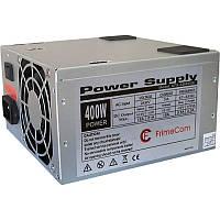 Блок питания 400W FrimeCom (SM400BL / LE) (, Стандарт - ATX, КПД, охлаждение - 1x80 mm, активный PFC модуль, р