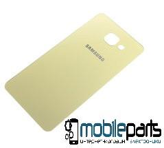 Задняя панель корпуса для Samsung Galaxy A5 2016   A510  (Качество ААА) (Золотая)
