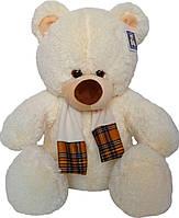 Мягкая игрушка «Плюшевый мишка Подлиза 80 см с шарфом»