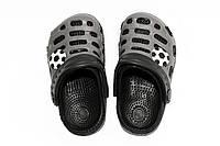 Летняя обувь для детей. Черный/серый(30-35)
