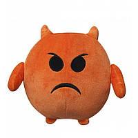 Мягкая игрушка Смайлик Злюка 18 см IMOJI (40004)