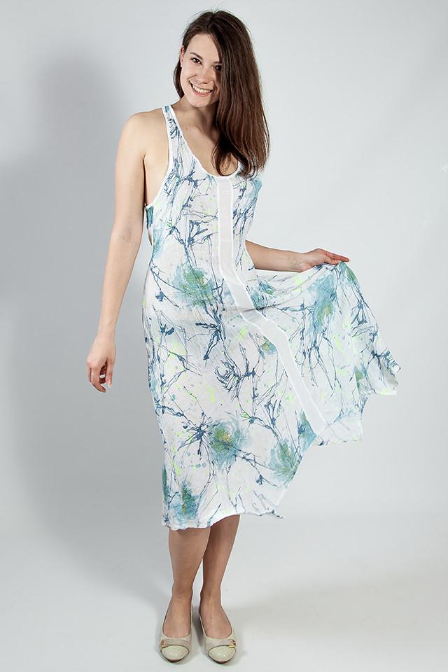 d2b01beb0f9 Женское Летнее Платье Открытое Натуральное Rinascimento — в Категории