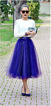 Юбка из фатина , фатиновая юбка длинная, фото 3