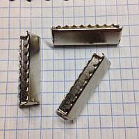 Наконечник стропы 3см металл никель (уп50шт)