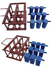 Комплектуючі на вібростанки на 3 блоки
