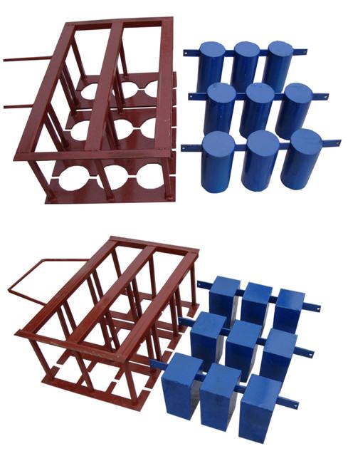 Комплектующие на вибростанки на 3 блока