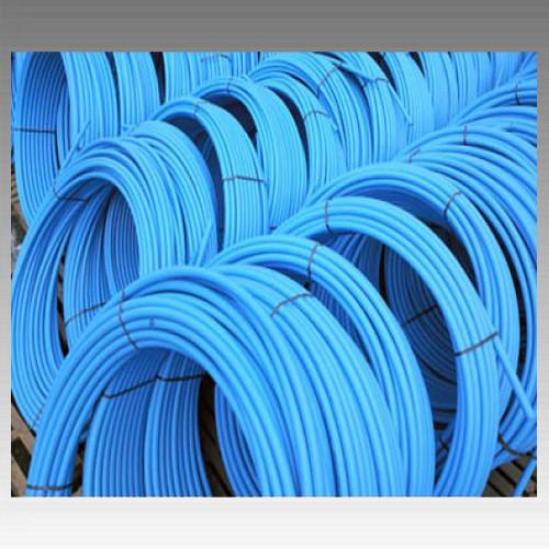 Труба полиэтиленовая, синяя (6 атмосфер) Ø25; толщ.стенки 2 мм