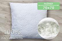 Подушки стьобані (70х70см), для сну, холлофайбер