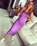 """Женское удобное платье-майка в обтяжку """"Givanchy"""" (2 цвета)"""