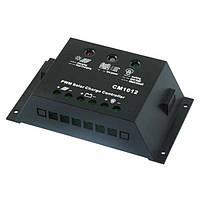Фотоэлектрический контроллер заряда JUTA CM1012, 10А 12В+USB