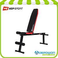 Скамья универсальная для жима и пресса Hop-Sport HS-1010