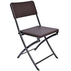 Кресло раскладное садовое из ротанга (ogrodowe rattan)