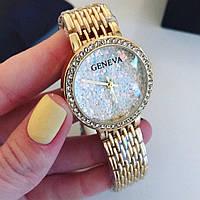 Женские красивые часы в камушках Geneva (разные цвета)