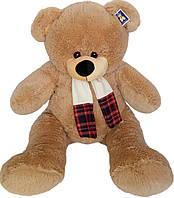 Мягкая игрушка «Плюшевый мишка Груффи 100 см с шарфом»